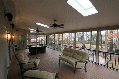 McWhorter Outdoor Living has built a screen room in Columbia, MD