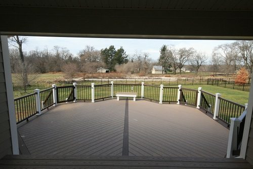 Howard County Deck Builders build custom deck in Glenelg, MD