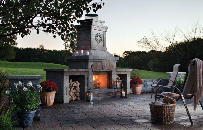 Patio Fireplace Brighton