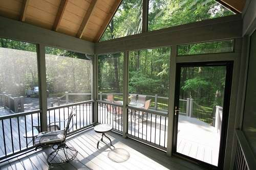Screen porch design maryland