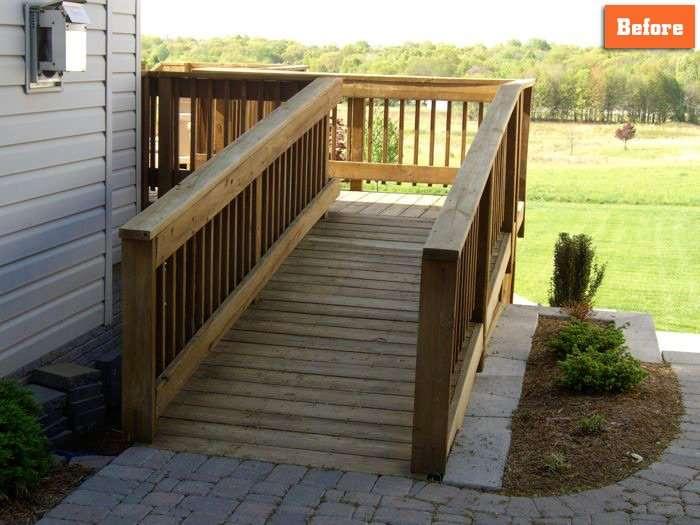Deck ramp design Maryland