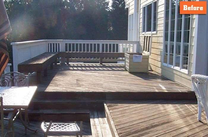 Deck repair idea Maryland