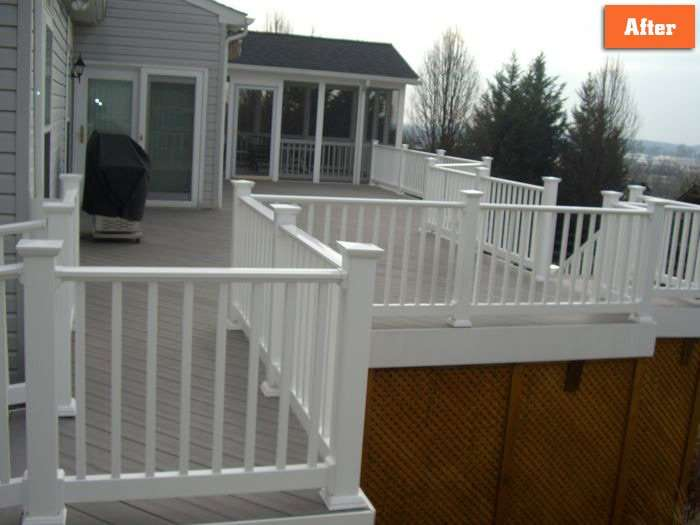 Deck resurfacing Repair Maryland