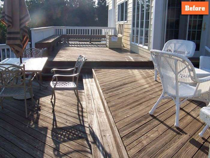 Deck Resurfacing Repairing Maryland