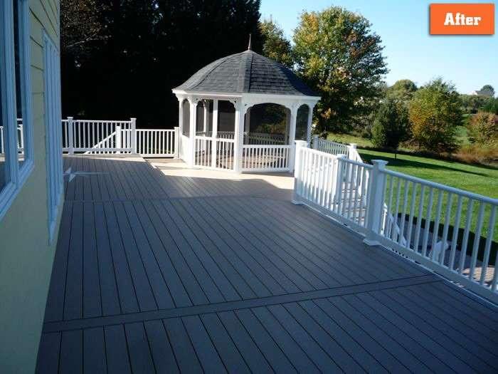Deck with Gazebo Maryland