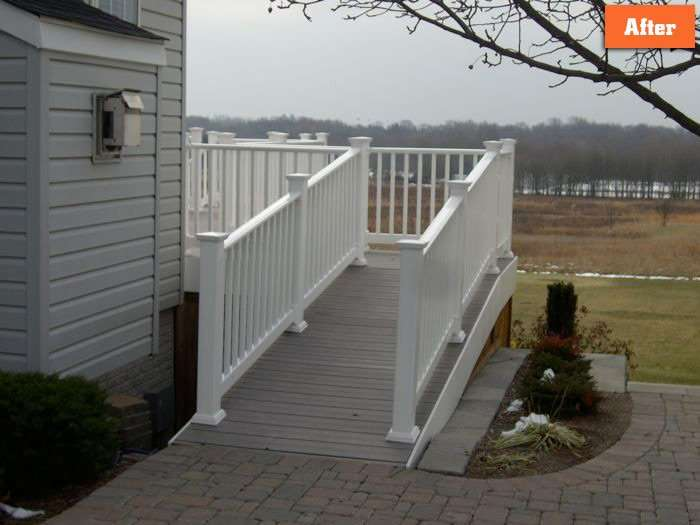 Deck with Ramp Maryland