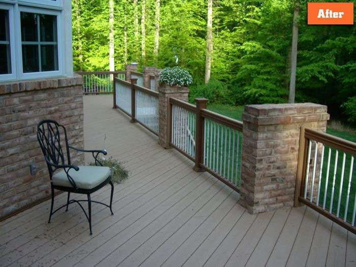 How to repair aging deck maryland