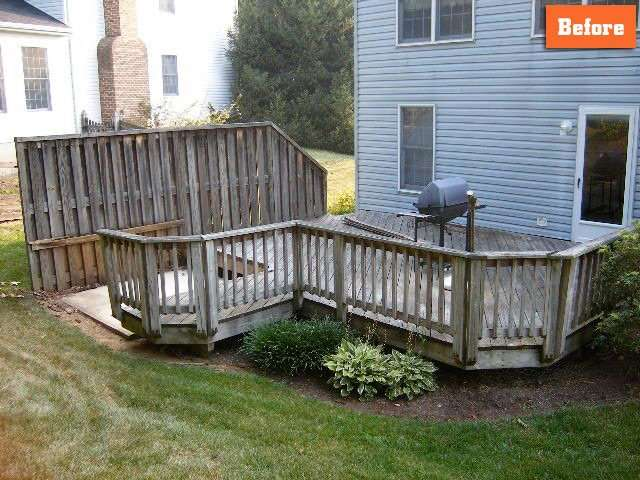 How to repair deck Maryland Company