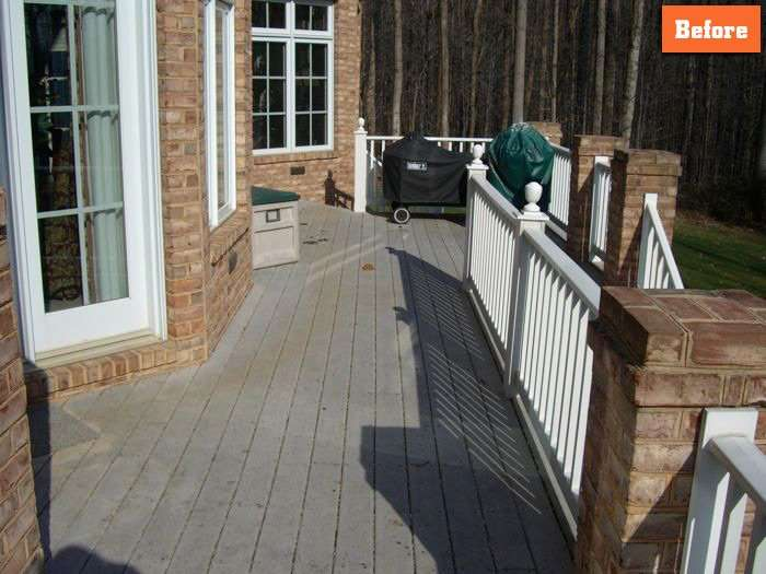 How to repair Deck Maryland