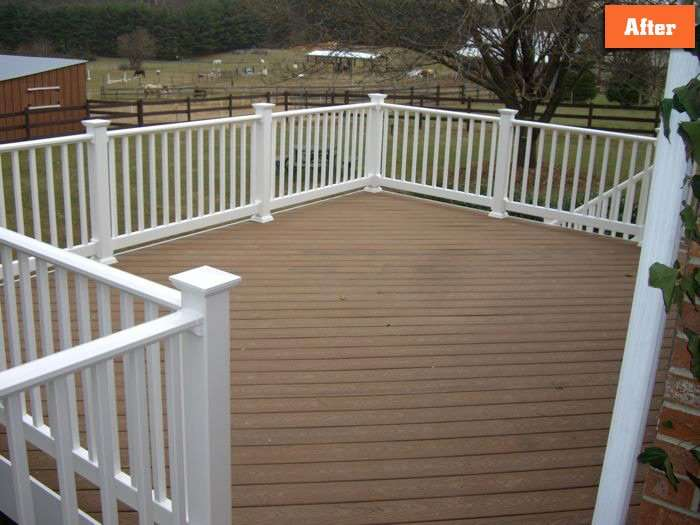 How to replace deck boards Maryland
