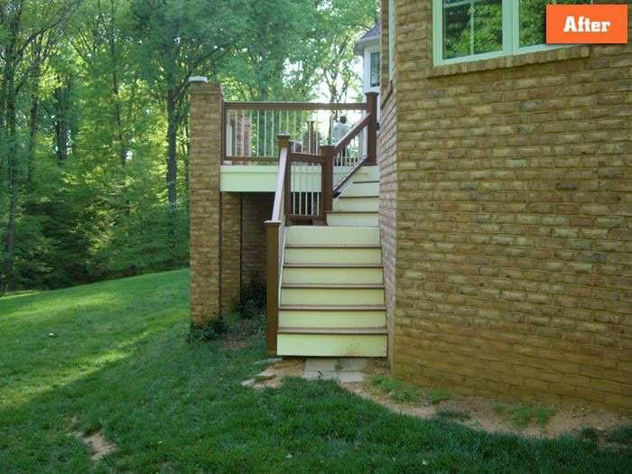 Repair Deck stairs Maryland
