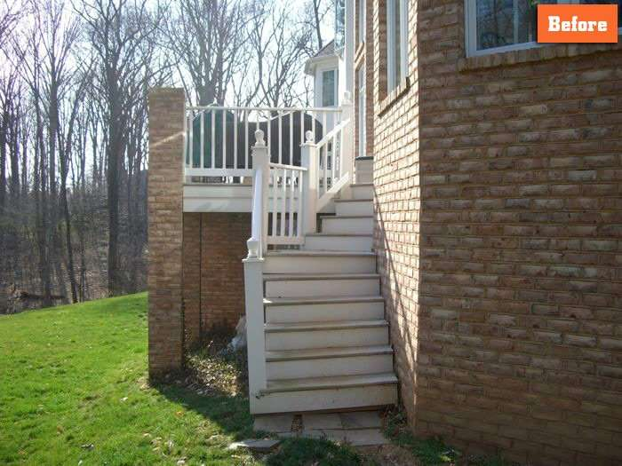Repairing Deck Stairs Maryland
