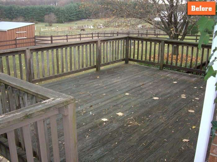 Replacing Deck Boards Maryland