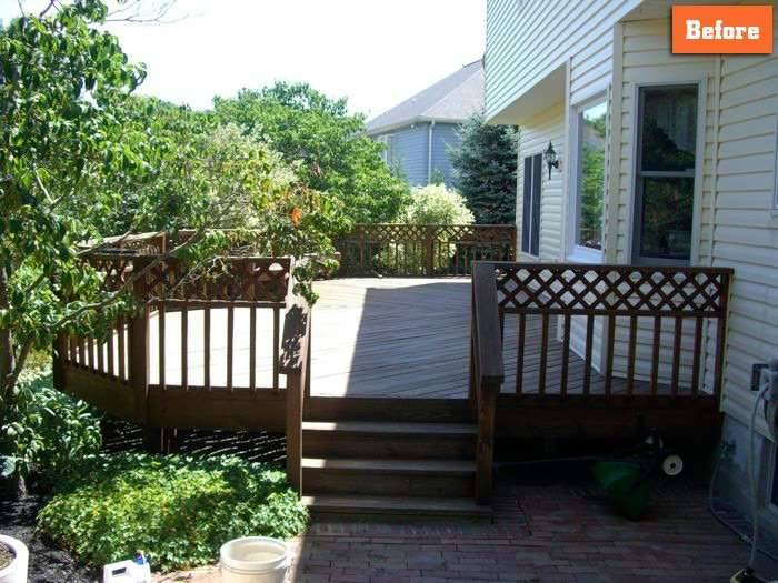 Replacing Decking and rails Maryland