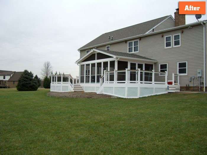 Screen Porch Design Companies in Maryland