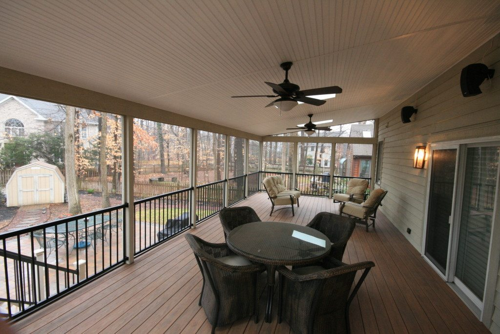 Screened porch Shed Roof