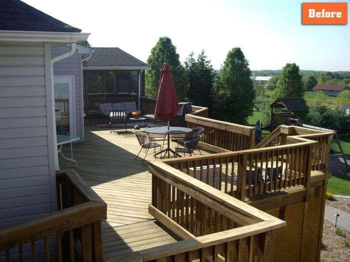 Wood deck replacement maryland