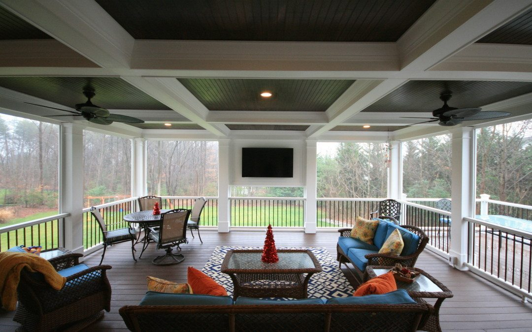 Howard County Porch Builders Build Custom Screened Porch in Pasadena, Maryland