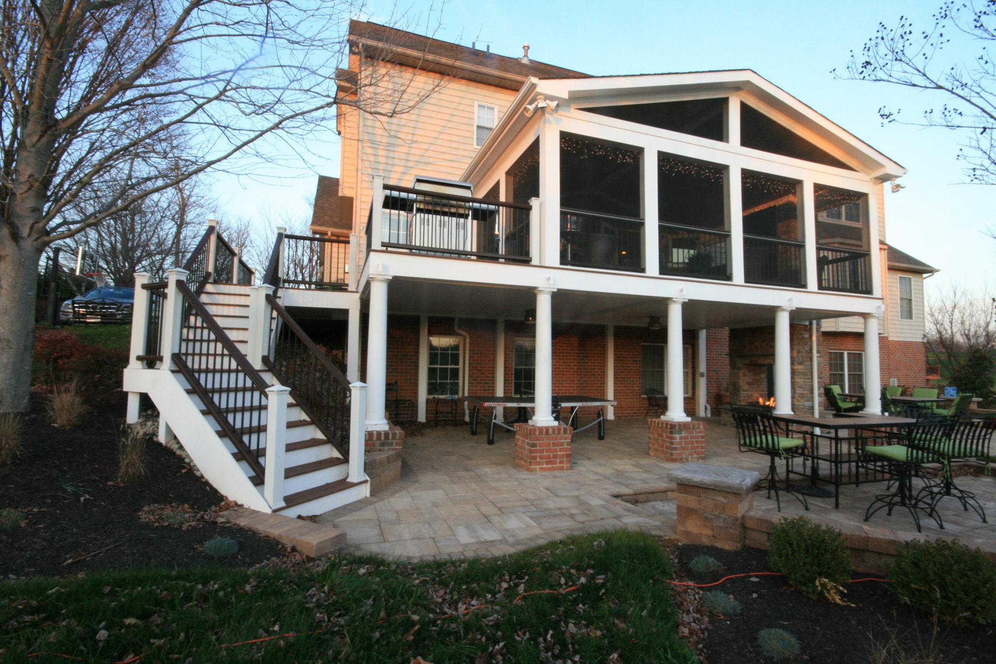 Maryland screen porch