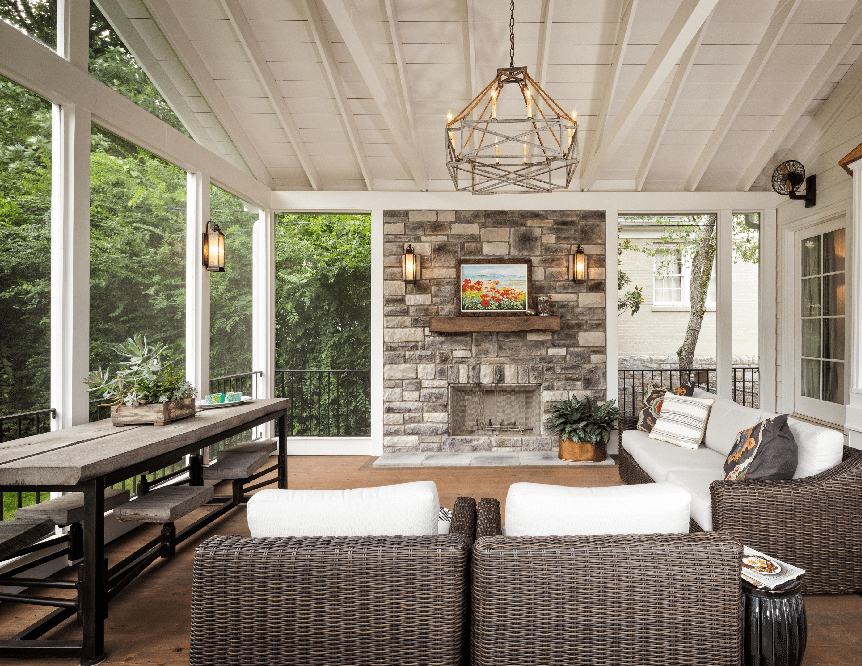 Screen porch design ideas maryland for Screen room plans