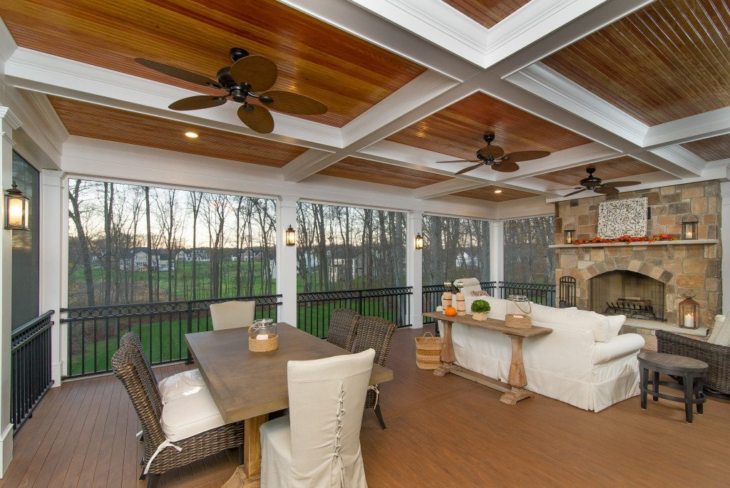 Maryland Screened porch design
