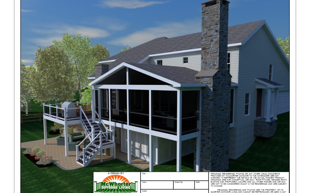 Maryland Screen Porch Builder- Check out some photos from our latest project in Brookeville, MD