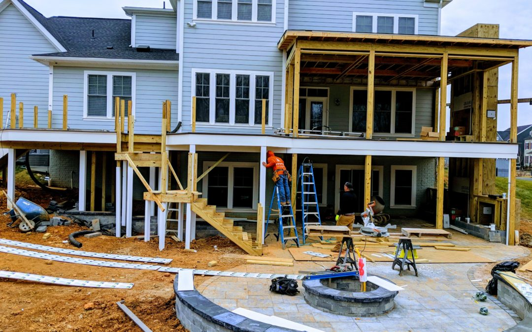 Maryland Screen Porch Builder Project Update, Fulton, MD