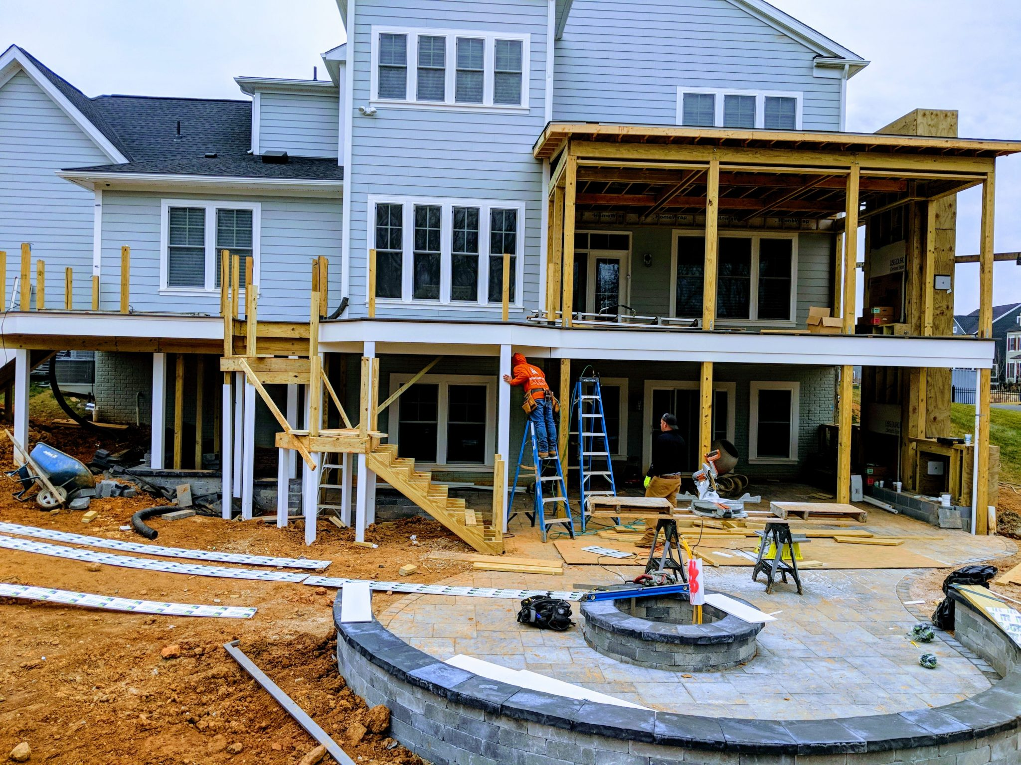 Maryland Screen Porch Builder Project Update Fulton Md