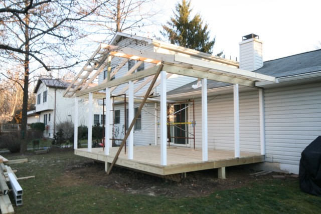 Turning An Existing Deck Into A Screen Porch Columbia Md